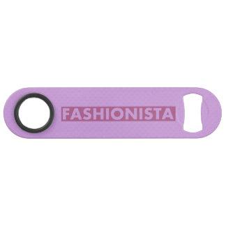 Pretty Purple Fashionista Text Cutout