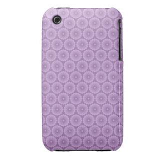 Pretty Purple Floral iPhone 3 Cases
