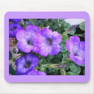 Pretty Purple Flower Mousepad