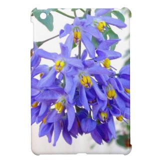 Pretty Purple Flowers iPad Mini Covers