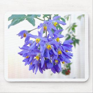 Pretty Purple Flowers Mousemat