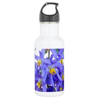 Pretty Purple Flowers 532 Ml Water Bottle