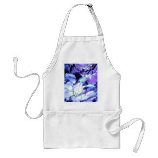 Pretty Purple Flowers Standard Apron