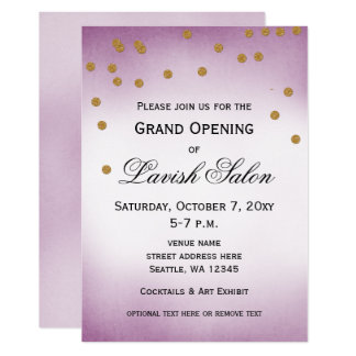 Grand Opening Party Invitations Announcements Zazzle Com Au
