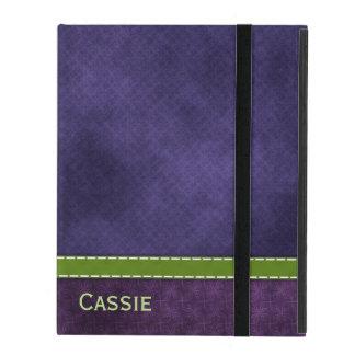 Pretty Purple iPad Folio Case