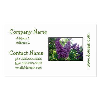 Pretty Purple Lilacs Business Cards