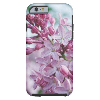 Pretty Purple Lilacs Tough iPhone 6 Case