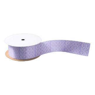 Pretty Purple Lilacs Satin Ribbon