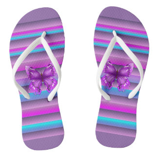 Pretty Purple Thongs