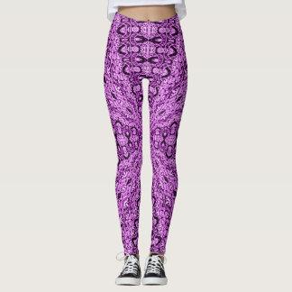 Pretty Purple Zen Leggings