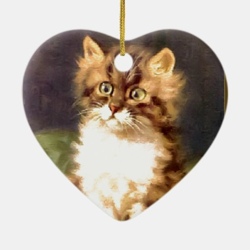 Pretty pussy ornament