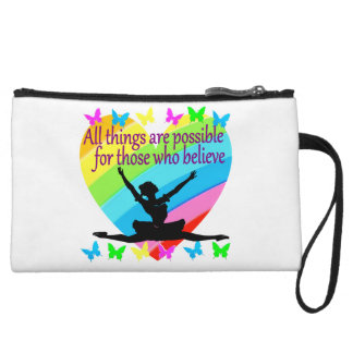 PRETTY RAINBOW ALL THINGS ARE POSSIBLE BALLERINA WRISTLET