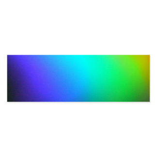 Pretty Rainbow Bookmark Pack Of Skinny Business Cards