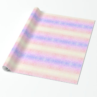 Pretty Rainbow Frost design Wrapping Paper