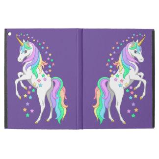 "Pretty Rearing Rainbow Unicorn Falling Stars iPad Pro 12.9"" Case"