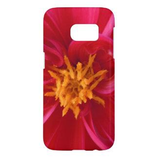 Pretty Red Dahlia -