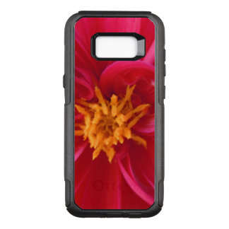 Pretty Red Dahlia - OtterBox Commuter Samsung Galaxy S8+ Case