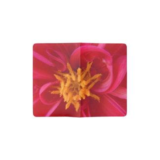 Pretty Red Dahlia - Pocket Moleskine Notebook