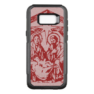 Pretty Red Nativity OtterBox Commuter Samsung Galaxy S8+ Case