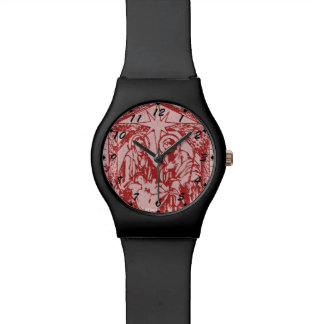 Pretty Red Nativity Watch