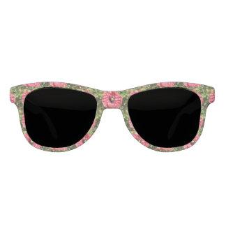 Pretty Red Poppy Flower Macro Sunglasses