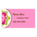 Pretty Rose Business,Profile Card Pack Of Standard Business Cards