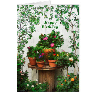 Pretty Roses Birthday Card