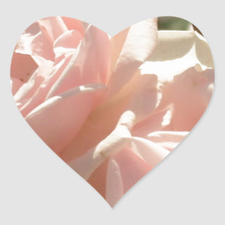 Pretty Roses Heart Sticker