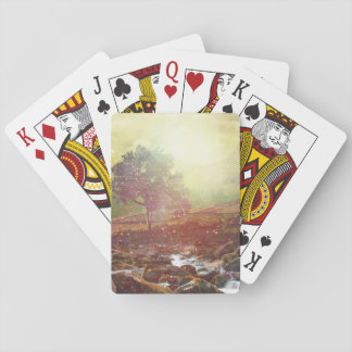 Pretty Scenic Mountain Landscape Playing Cards