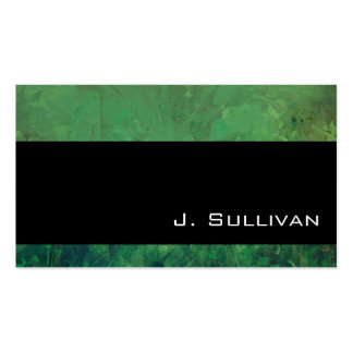Pretty Sea Green Abstract Marble Texture Pack Of Standard Business Cards
