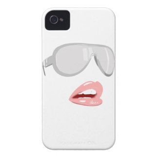 Pretty Shades & Lips iPhone 4 Cover