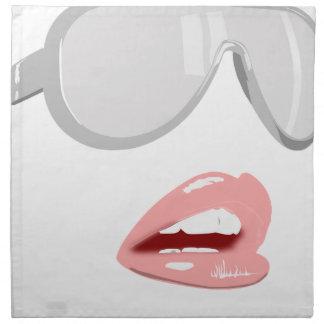Pretty Shades & Lips Napkin