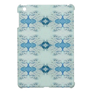 Pretty Shades of Blues In Modern Pattern Cover For The iPad Mini