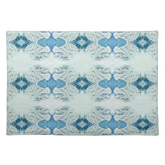 Pretty Shades of Blues In Modern Pattern Placemat