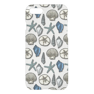 Pretty Shell Starfish Sea Pattern iPhone 7 Case