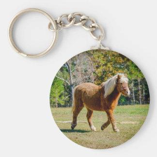 Pretty Shetland Pony Key Ring