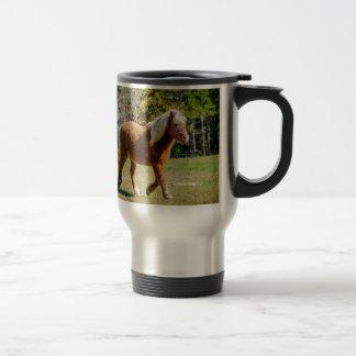 Pretty Shetland Pony Travel Mug