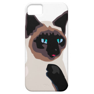 pretty siamese kitty cat barely there iPhone 5 case