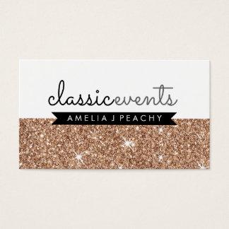 PRETTY SMART modern simple cute rose gold glitter