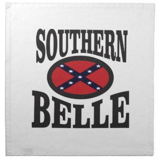 pretty southern belle napkin