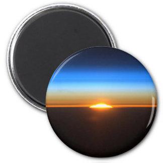 pretty space 6 cm round magnet