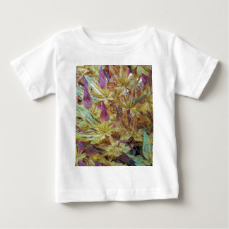 Pretty Spring Fall Leaf Combo Pattern Baby T-Shirt