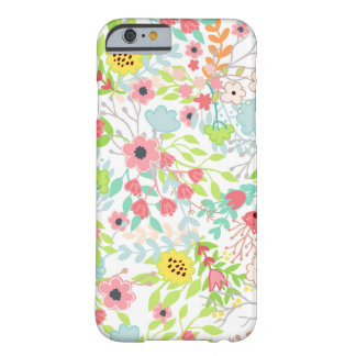 Pretty Spring Flowers Floral Pattern Barely There iPhone 6 Case