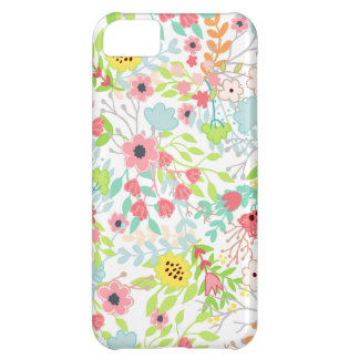 Pretty Spring Flowers Floral Pattern iPhone 5C Case
