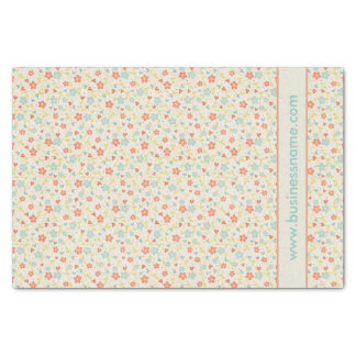 Pretty Spring Vintage Floral Tissue Paper