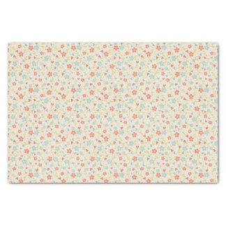 Pretty Spring Vintage Floral Tissue Paper
