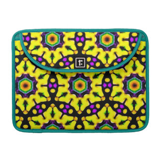 Pretty Stained Glass Mandala Pattern Sleeve For MacBooks