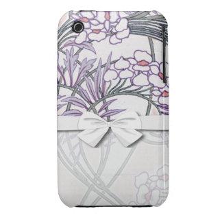 pretty summer floral art nouveau design iPhone 3 Case-Mate case