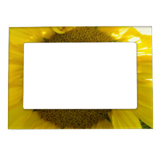 Pretty Sunflower Magnetic Picture Frame
