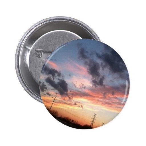 Pretty Sunset Button